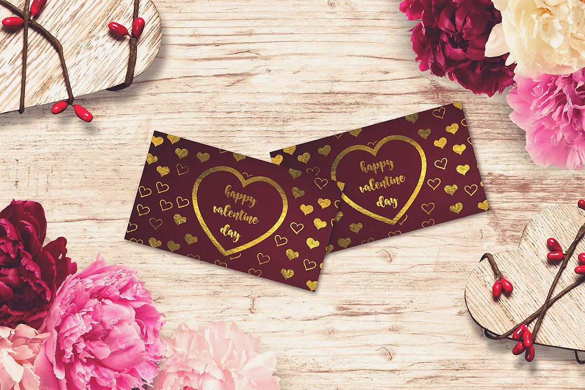 Valentine Card Mock-up #20 example image 1