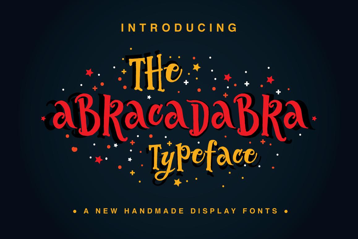 The Abracadabra Typeface example image 1