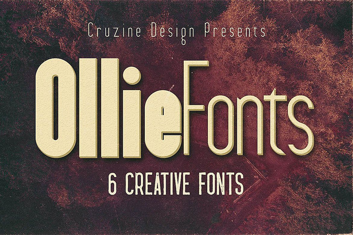 Ollie Typeface example image 1