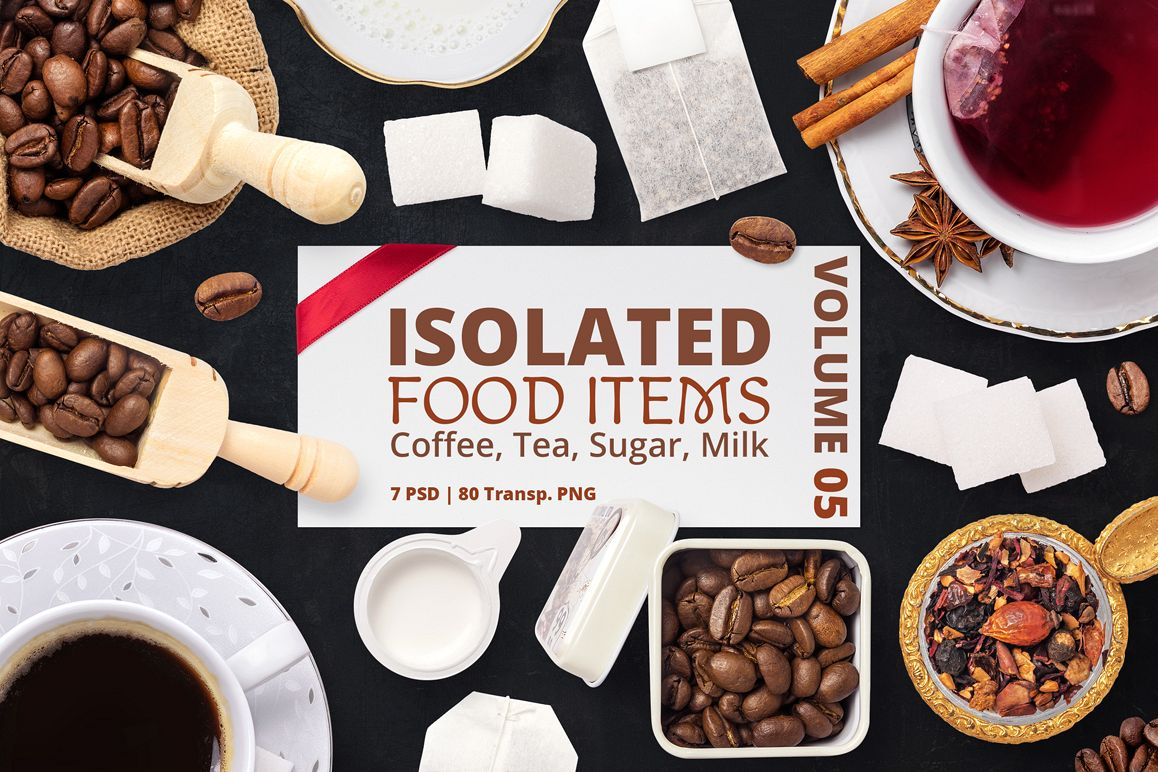 Isolated Food Items Vol.5 example image 1
