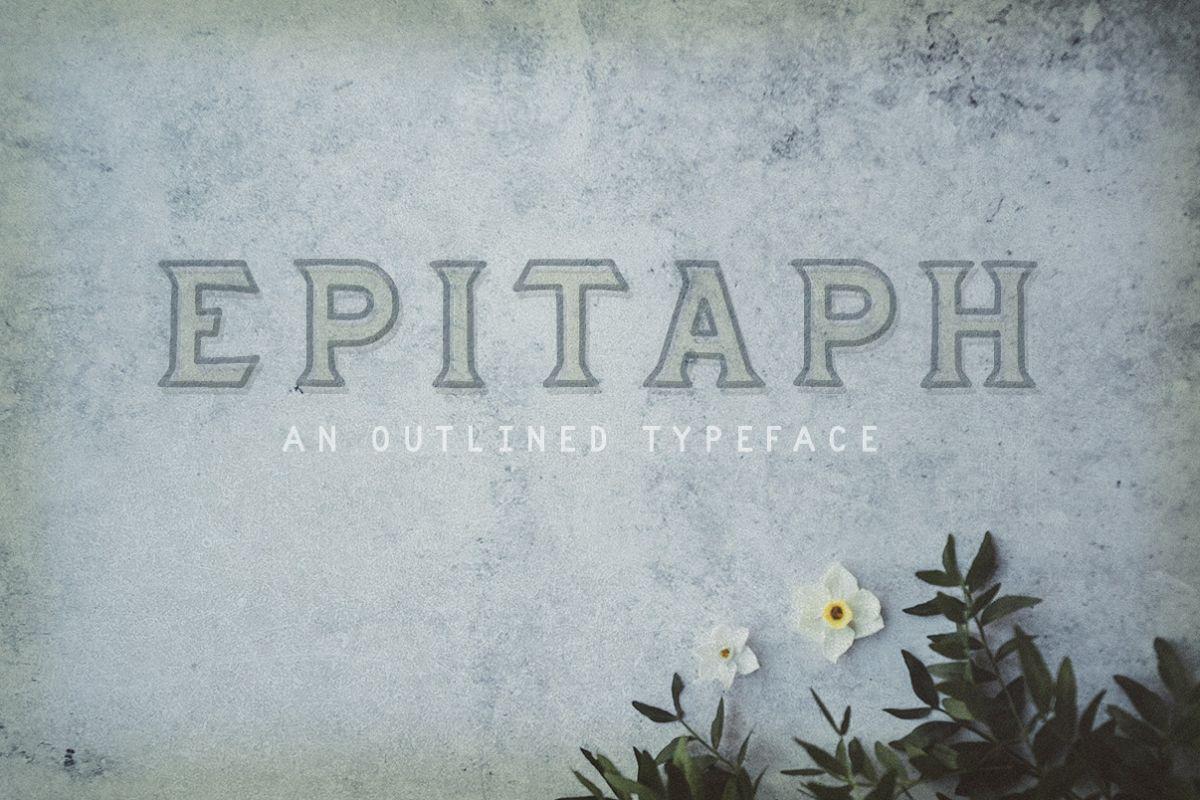 Epitaph example image 1