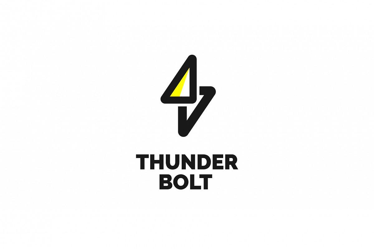 Thunder Bolt Logo example image 1