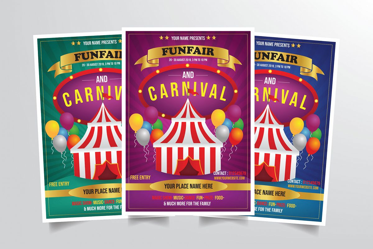 Carnival Flyer Template example image 1