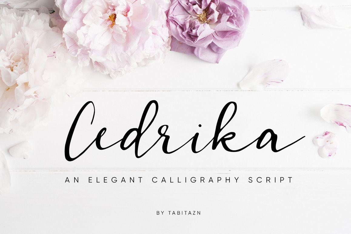 Cedrika script example image 1