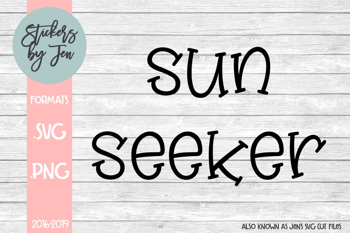 Sun Seeker 1 svg cut file example image 1