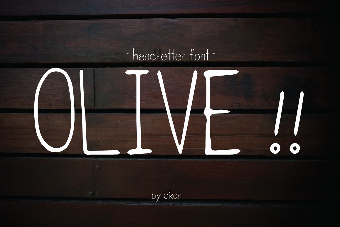 olive hand-letter example image 1
