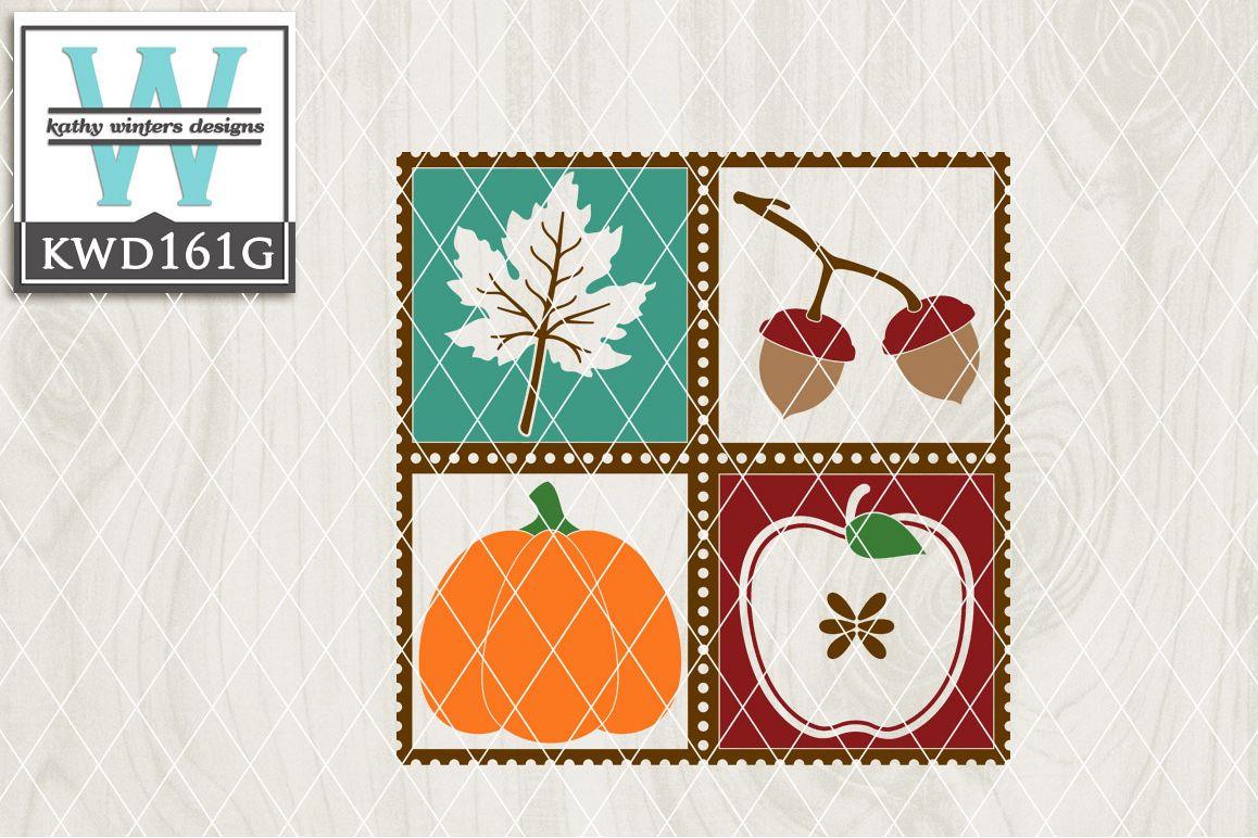 Autumn Cutting File KWD161G example image 1