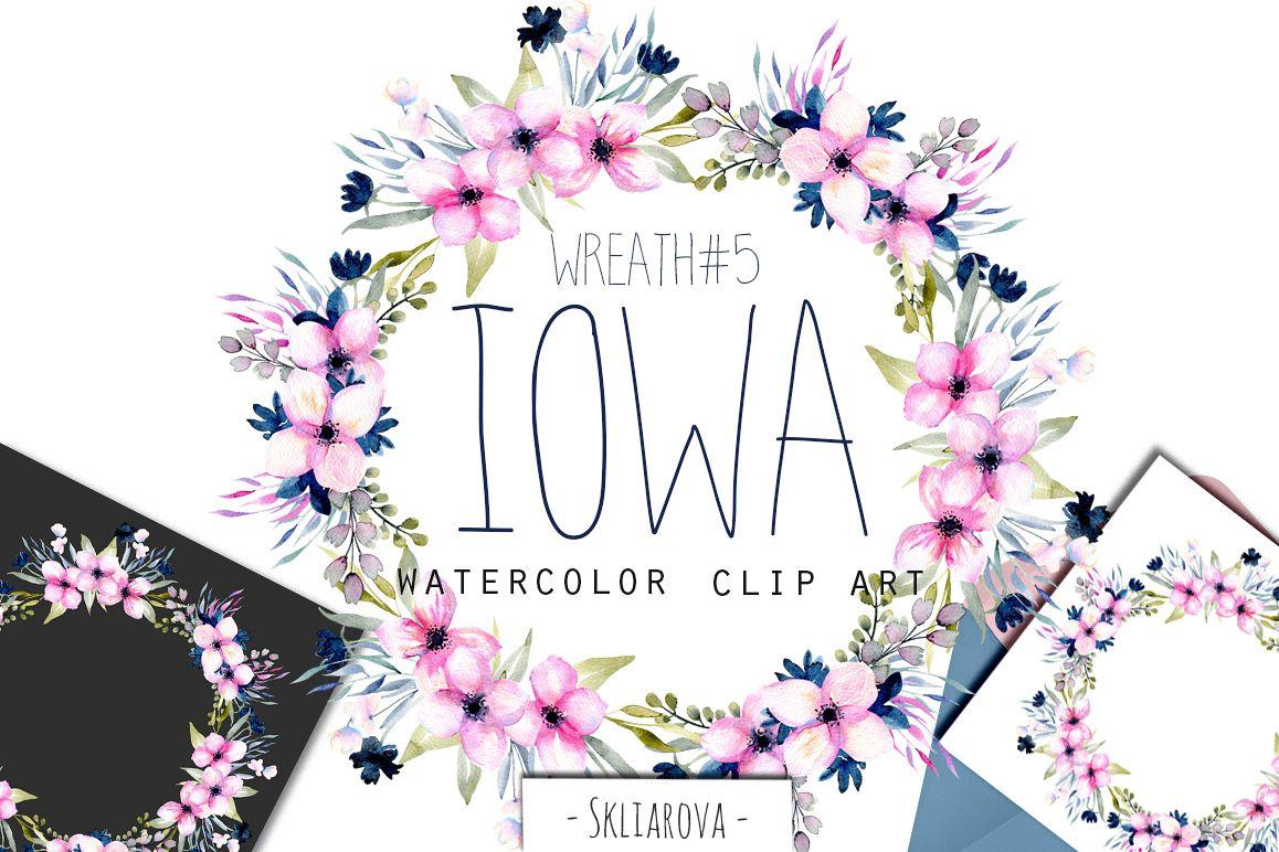 """""""Iowa"""". Wreath #5 example image 1"""