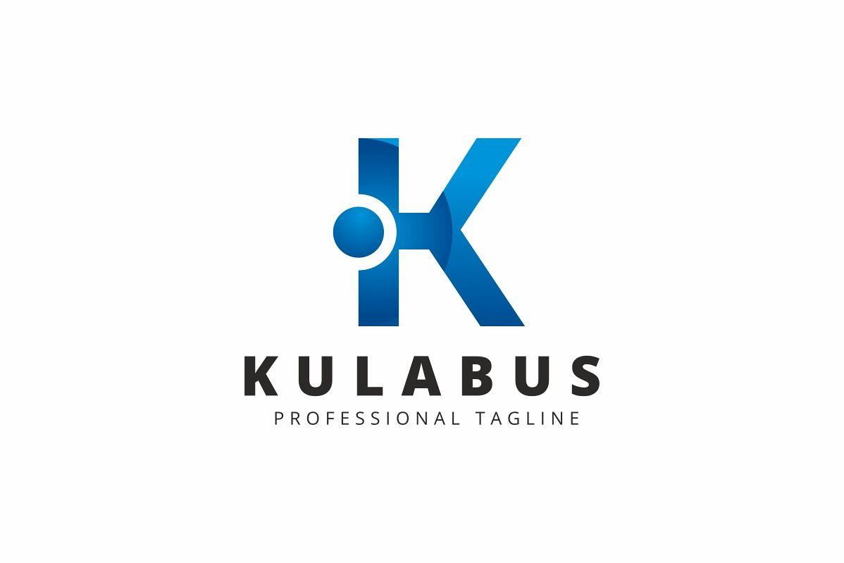 Kulabus K Letter Logo example image 1