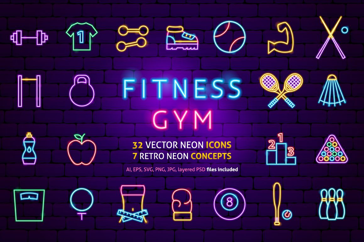 Fitness Neon example image 1