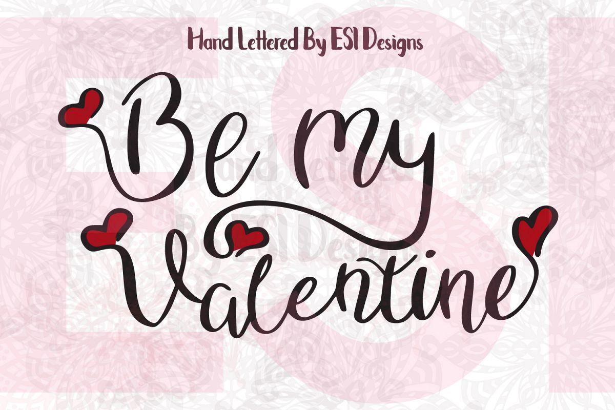Be My Valentine Quote. example image 1