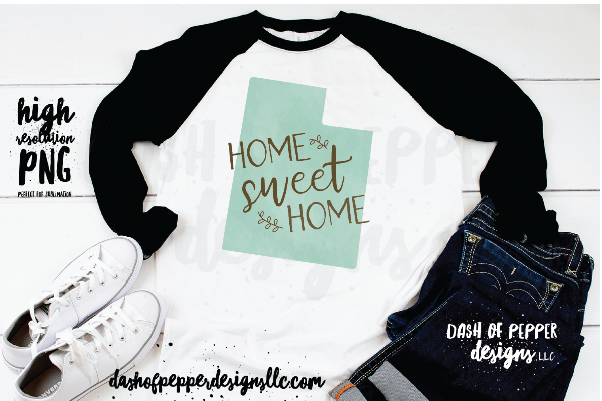 Utah - A Home Sweet Home PNG example image 1