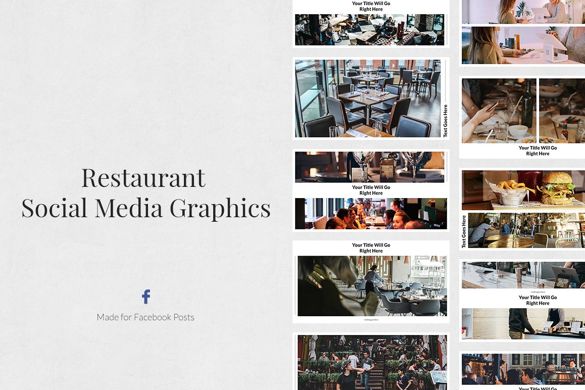Restaurant Facebook Posts example image 1