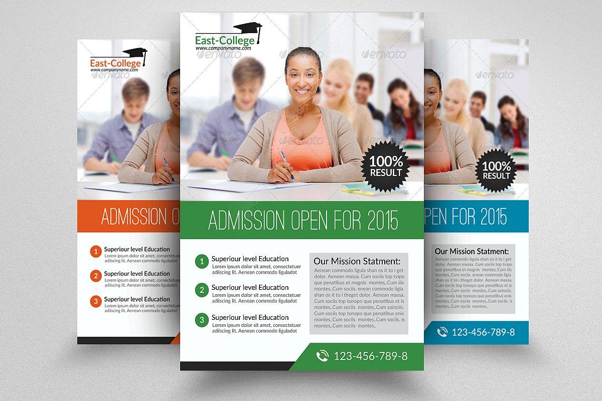 Senior Education Flyers example image 1