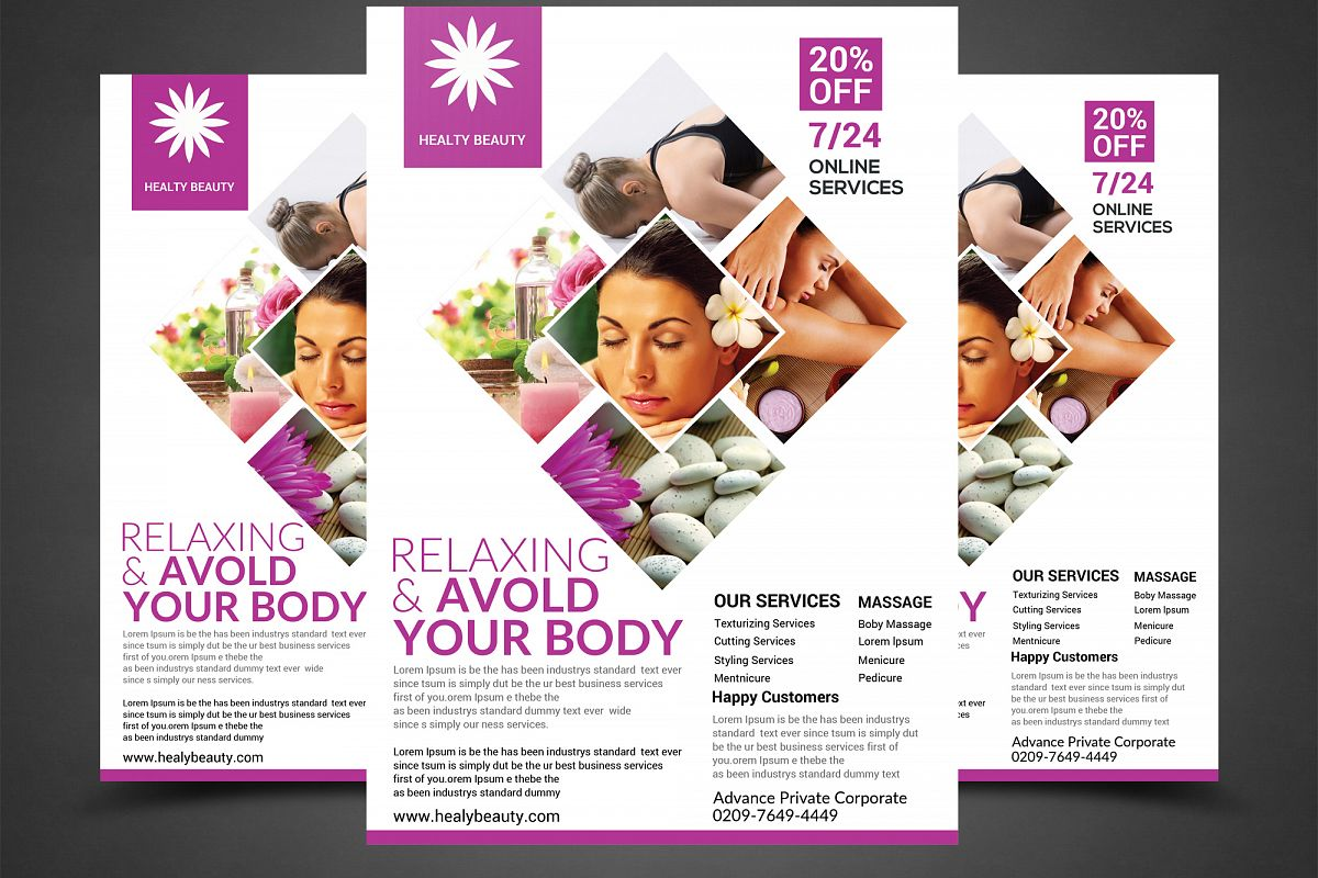 RELAXING YOUR BODY FLYER example image 1