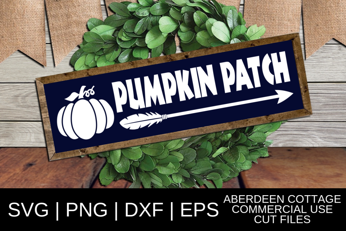 Pumpkin Patch 2 SVG example image 1
