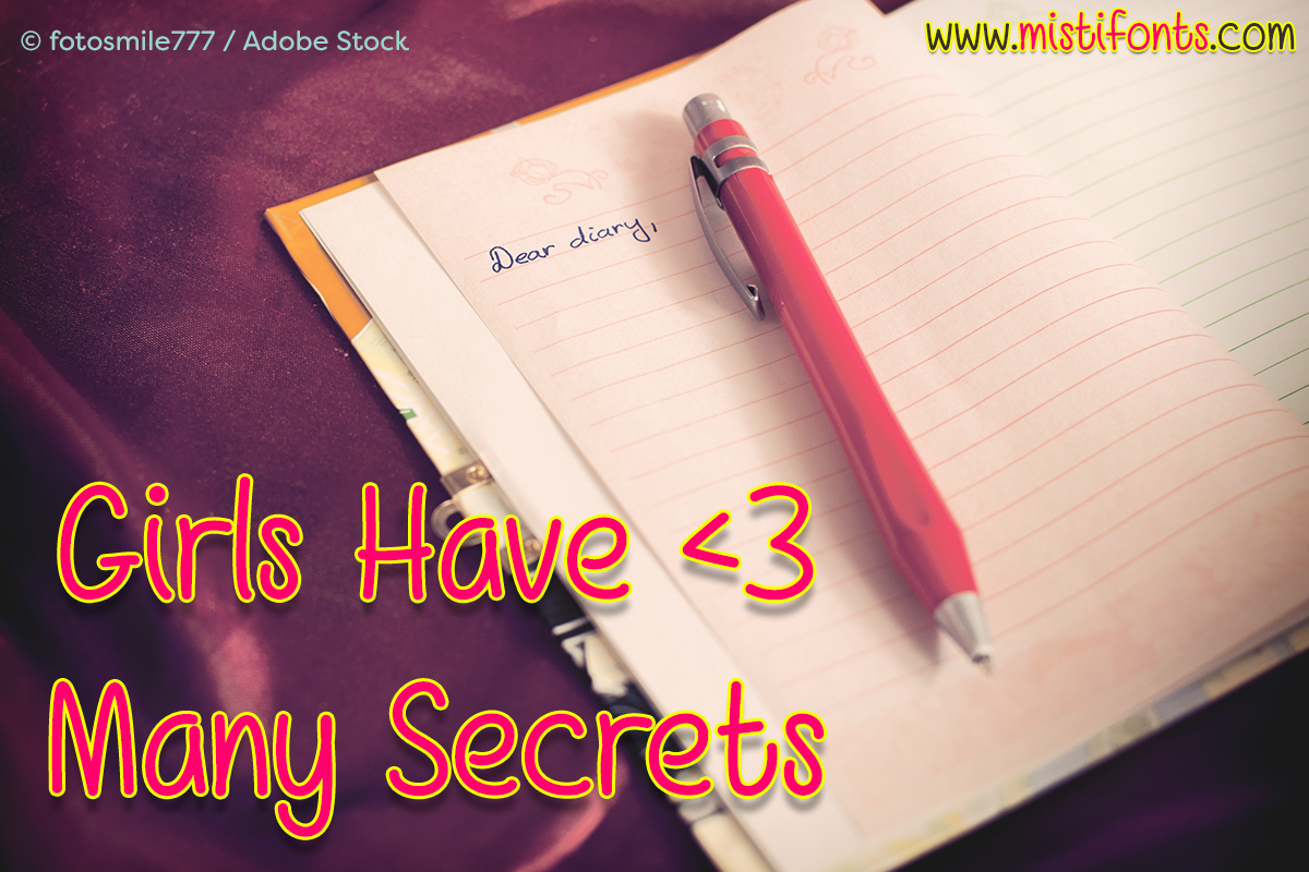 Girls Have Many Secrets example image 1
