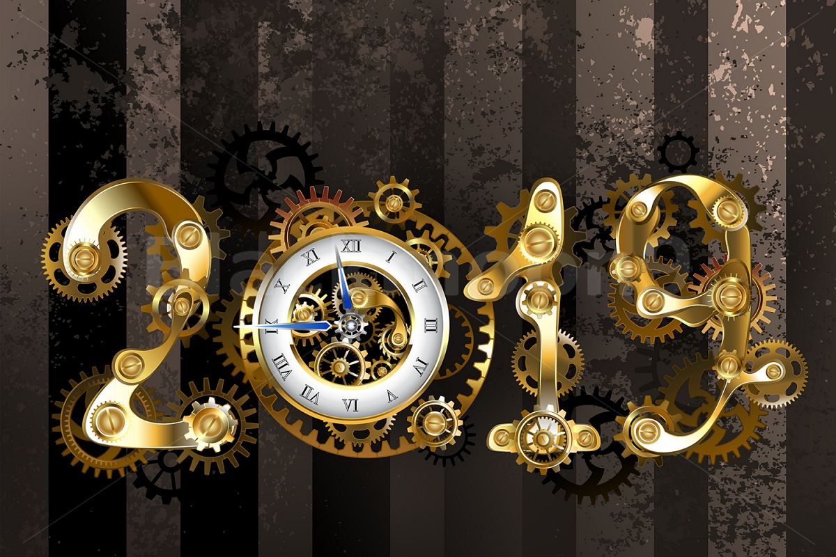 Steampunk 2019 with Gears example image 1