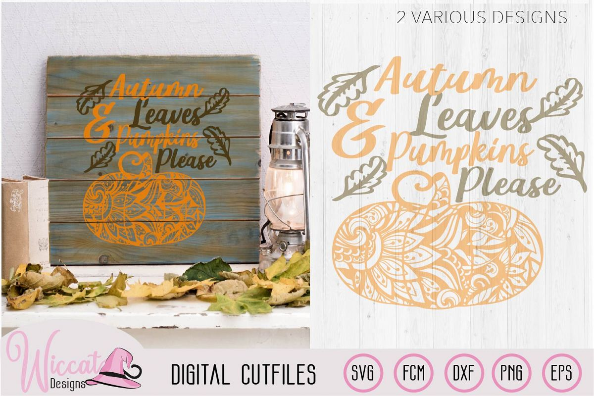 Autumn leaves, Doodle Pumpkin, fall quotes example image 1
