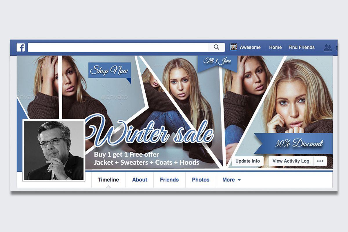 Creative Design Facebook Timeline example image 1