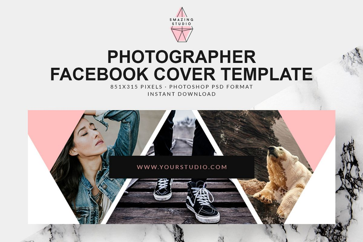 Photographer Facebook Cover Template Fbc004 Example Image 1