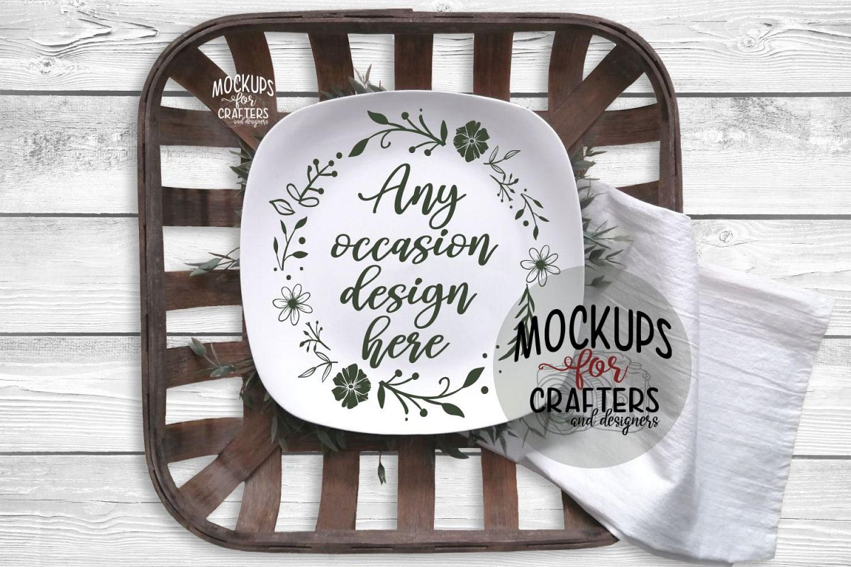 Serving Plate, Dinner Plate - White example image 1
