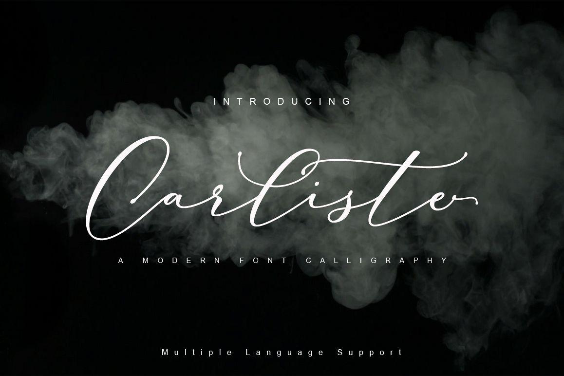 Carliste Script example image 1