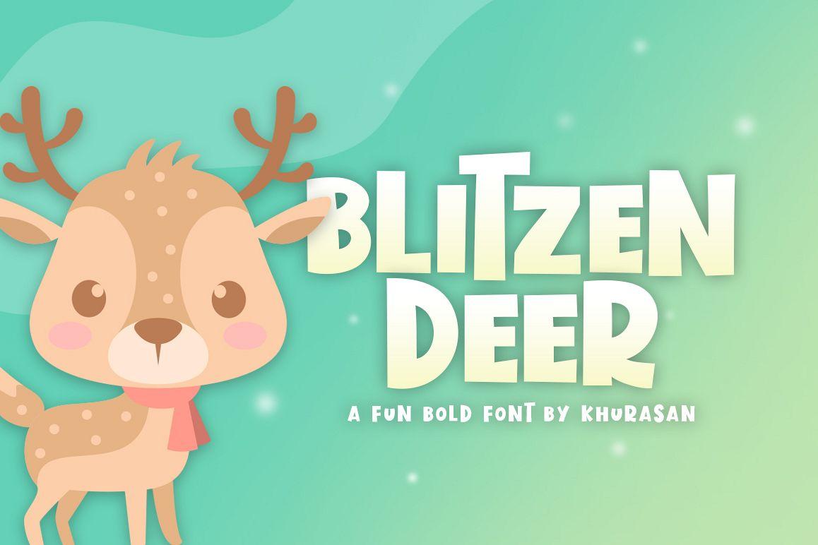 Blitzen Deer example image 1