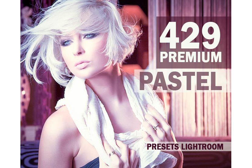 429 Premium Pastel Presets Lightroom Presets (Presets for Lightroom 5,6,CC) example image 1