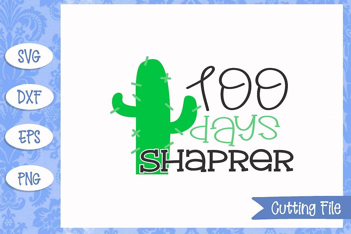 100 days sharper SVG File example image 1