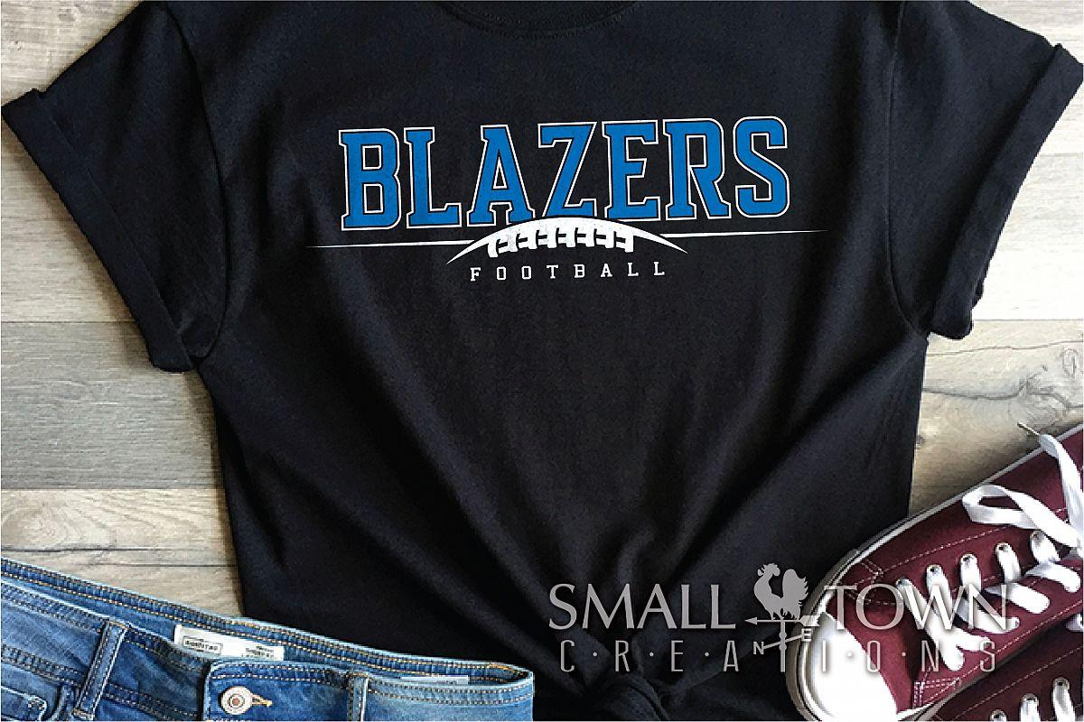 Blazer, Blazers Football, Sports, Design, PRINT, CUT, DESIGN example image 1