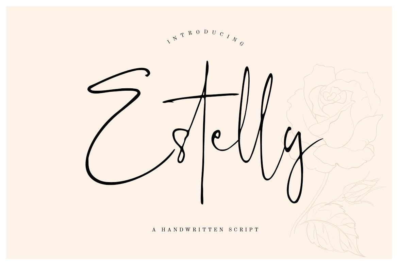 Estelly Stylish Signature example image 1