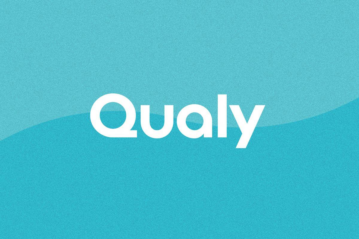 Qualy - Logo Font / Logo Use Only example image 1