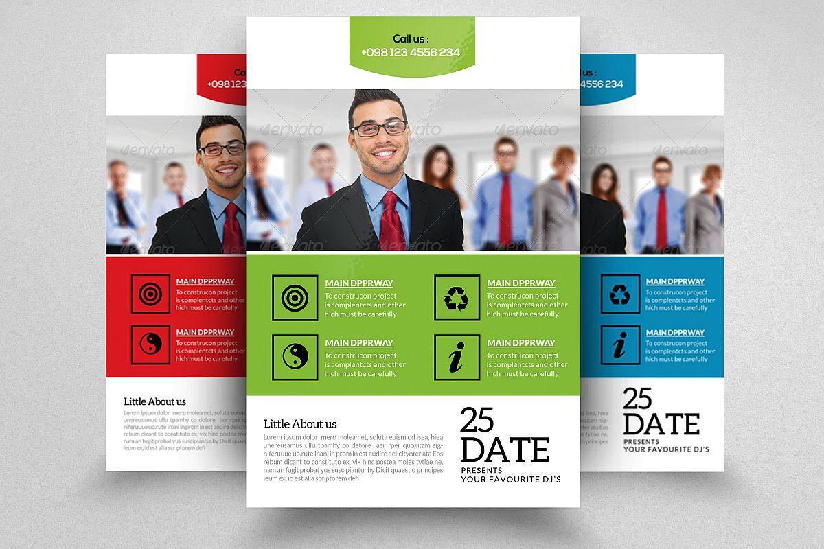 Venture Capital Firm Flyer Template B Design Bundles - Venture capital website template