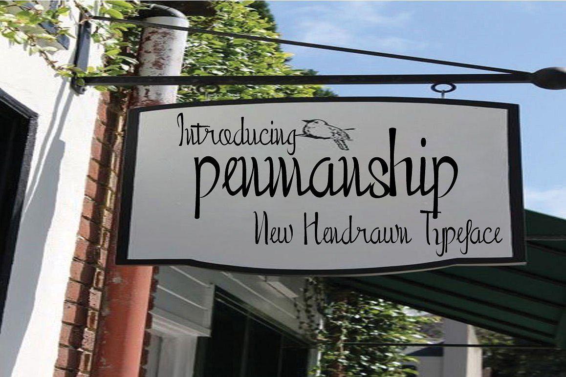 Penmanship example image 1