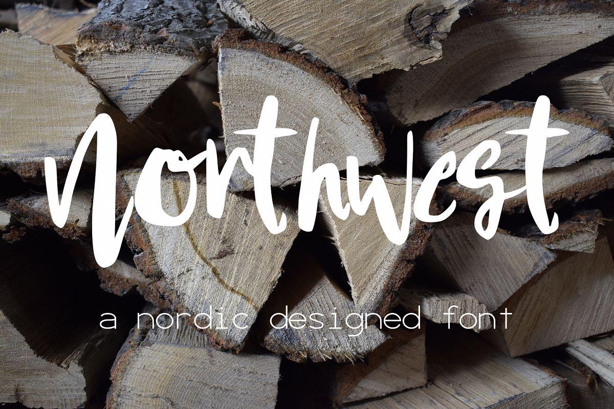 Northwest Font example image 1