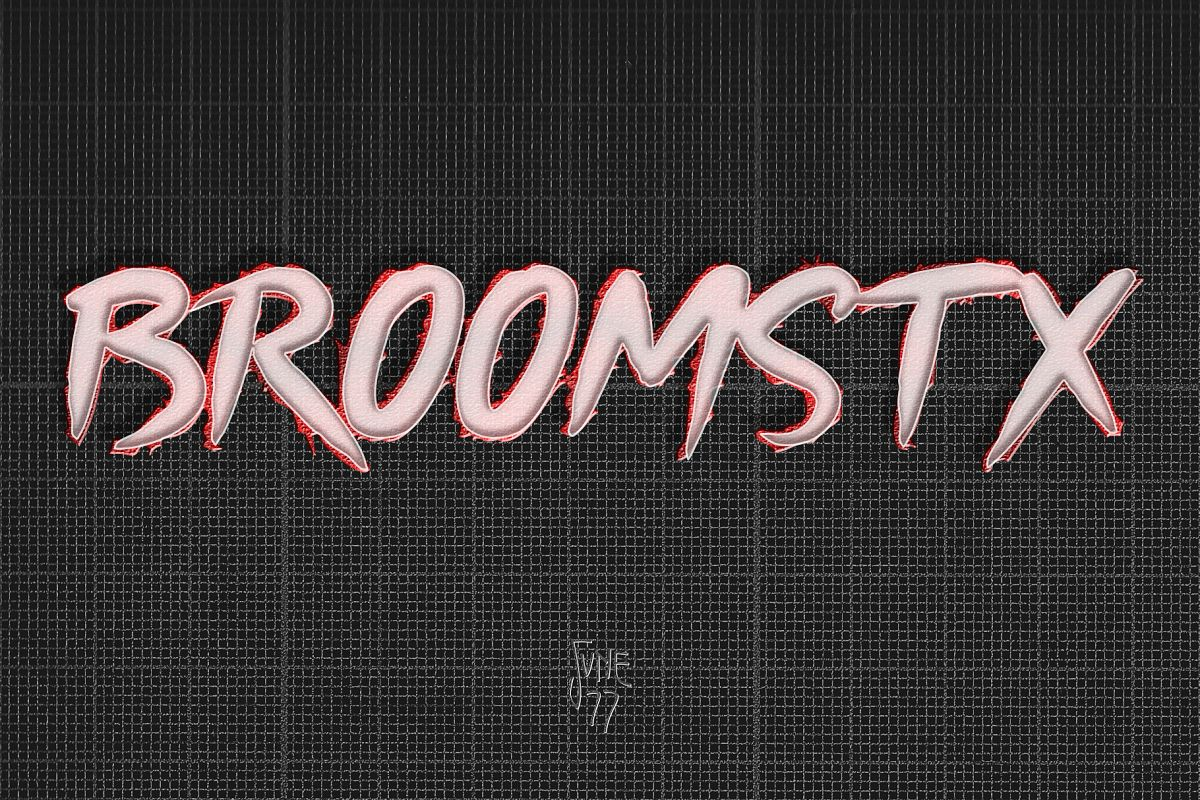 Broomstx -3 Retro 80's Brushes Family example image 1