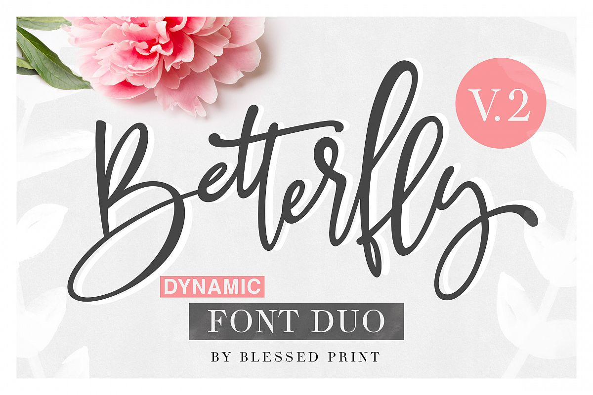 BetterFly 2 - Dynamic Font Duo example image 1