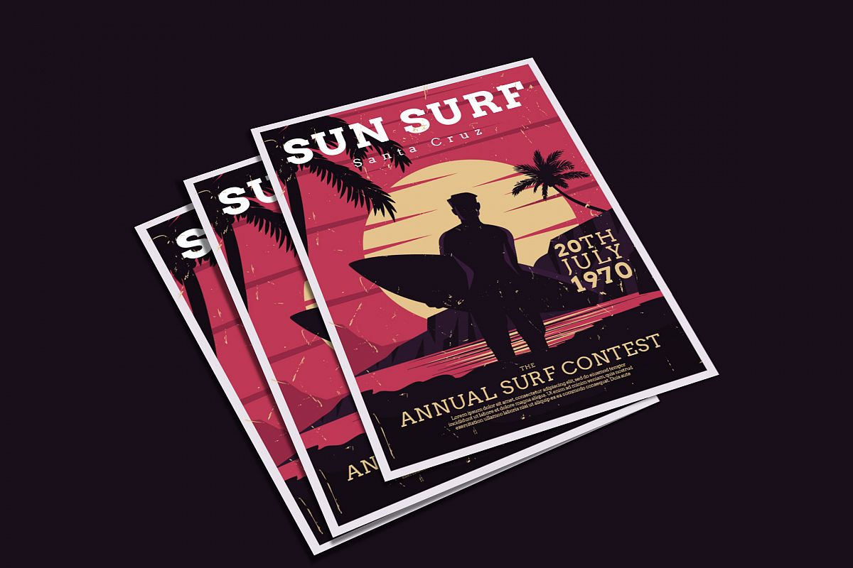 Surf Flyer example image 1
