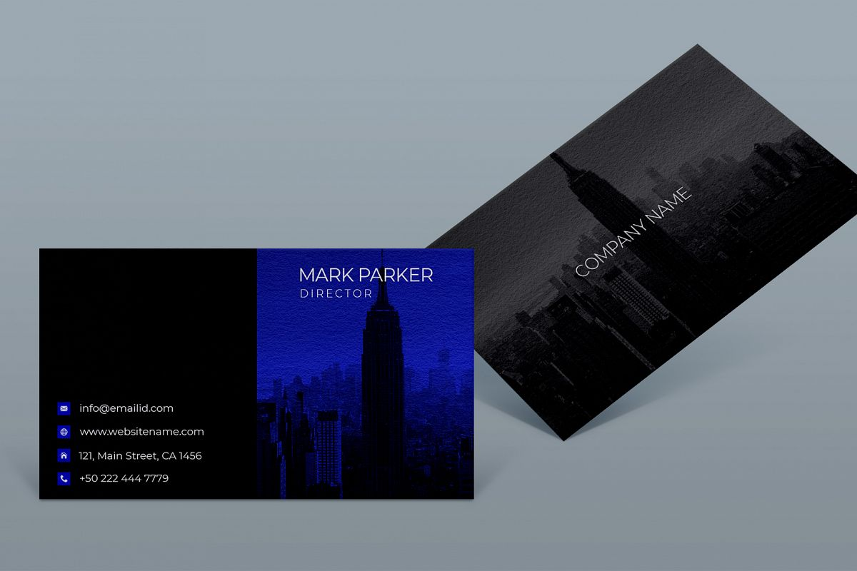 Corporate smart business card example image 1