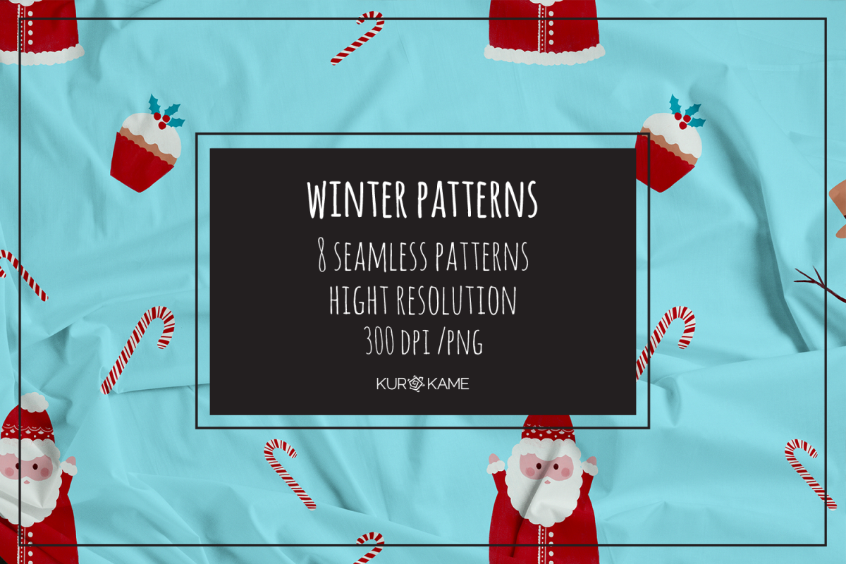 Winter patterns example image 1