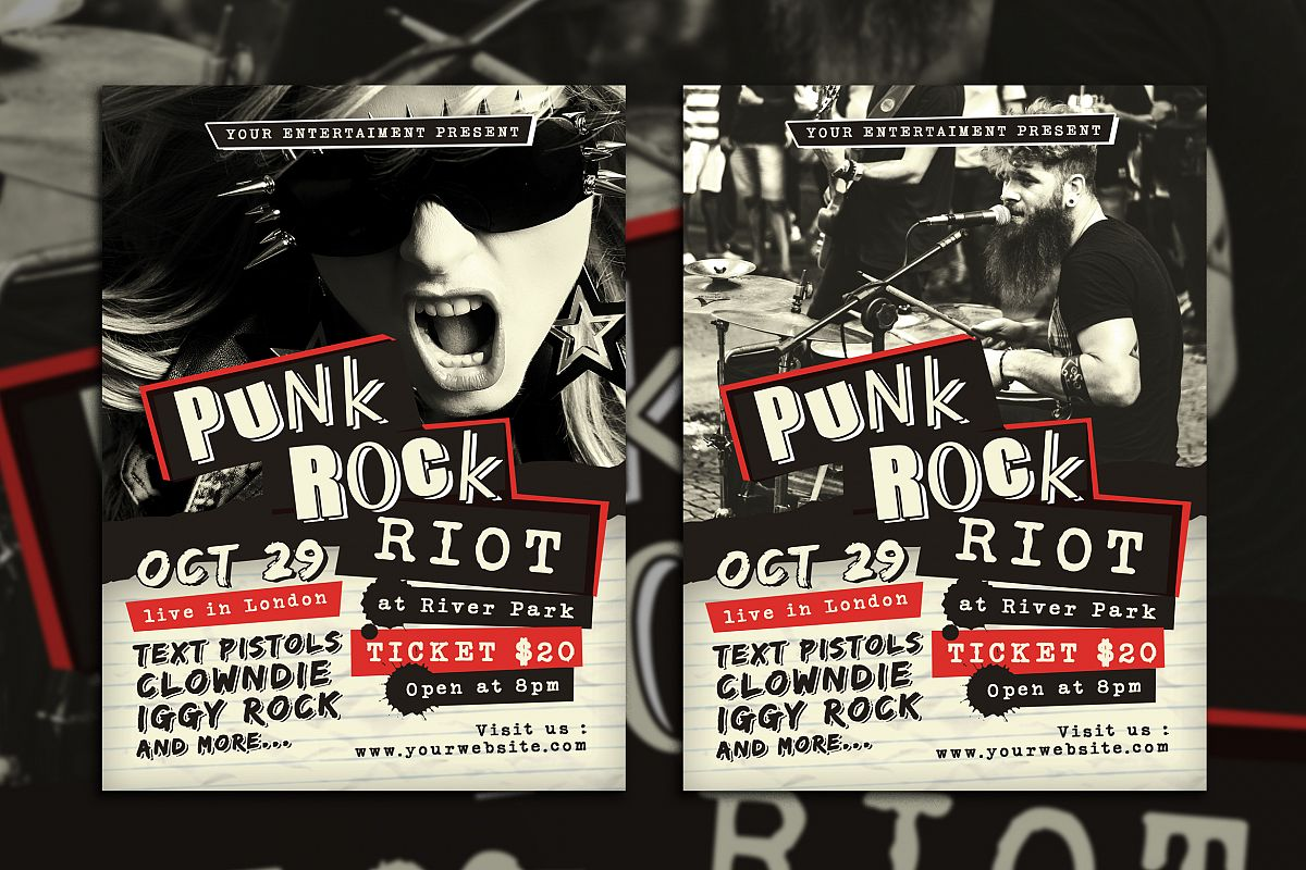 Punk Rock Concert example image 1