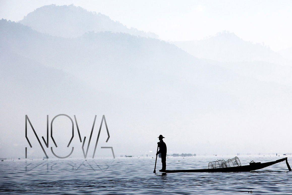Nova display typeface example image 1