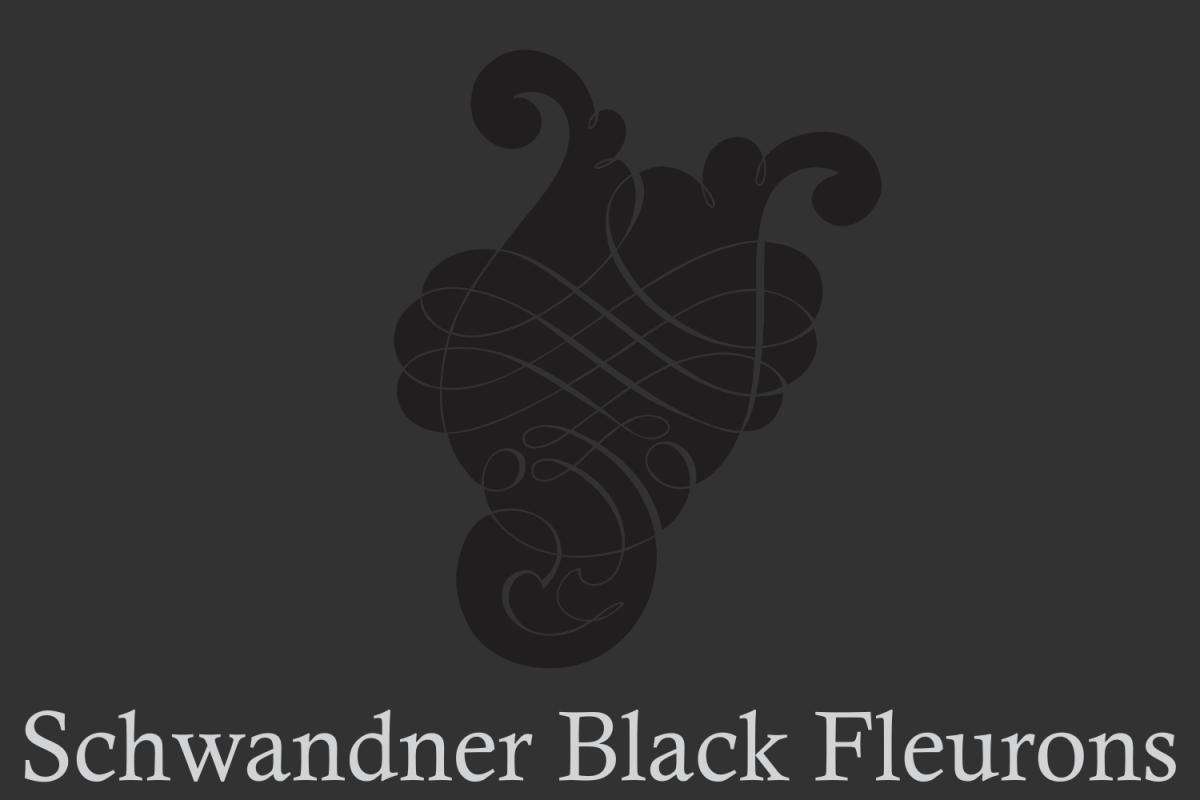 Schwandner Black Fleurons example image 1