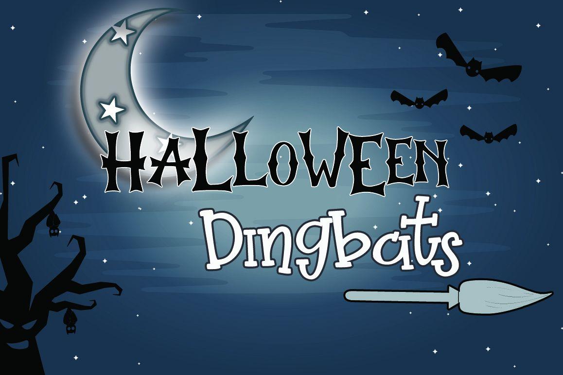 Halloween Dingbats Font example image 1