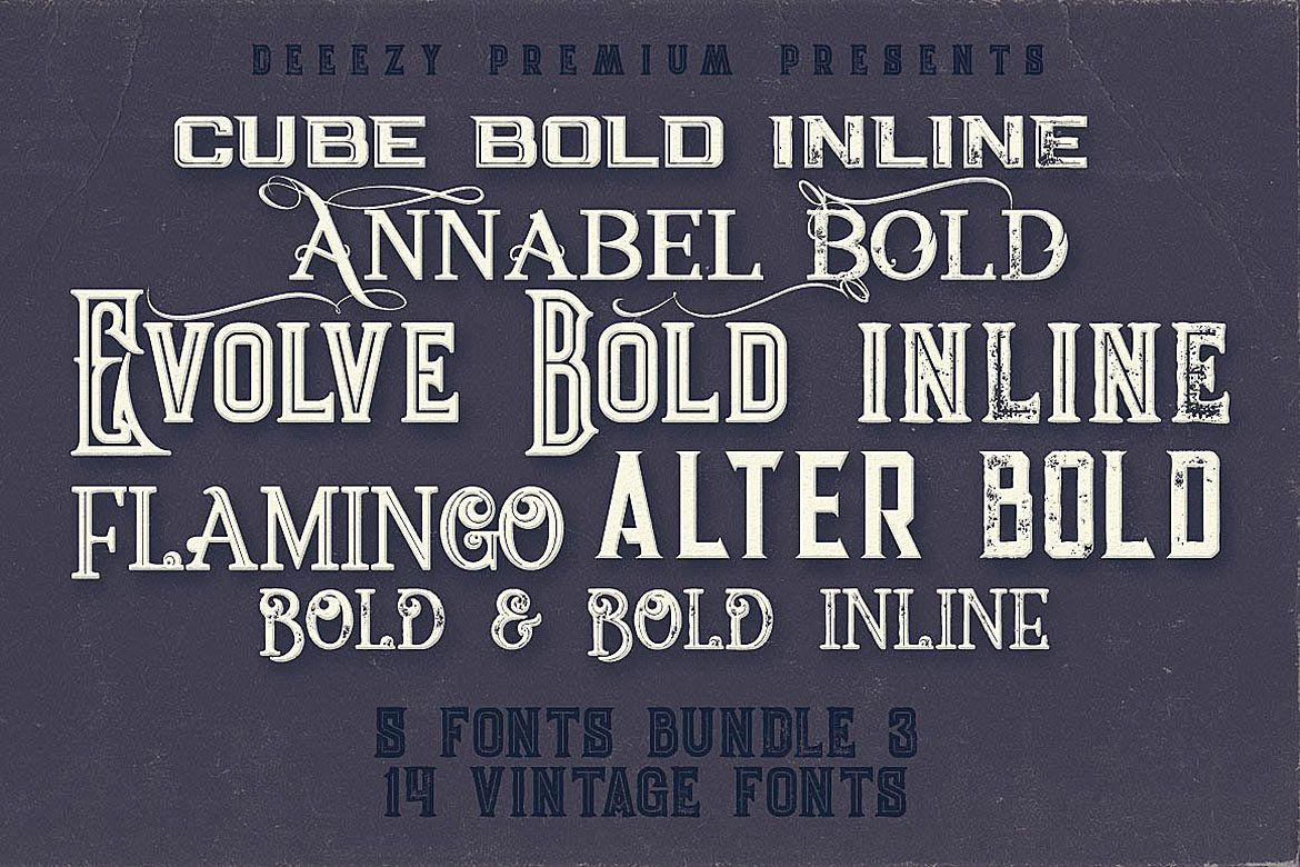 Cool Vintage Fonts example image 1