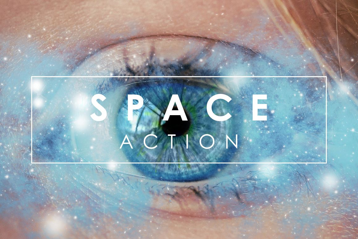 Space Photoshop Action example image 1