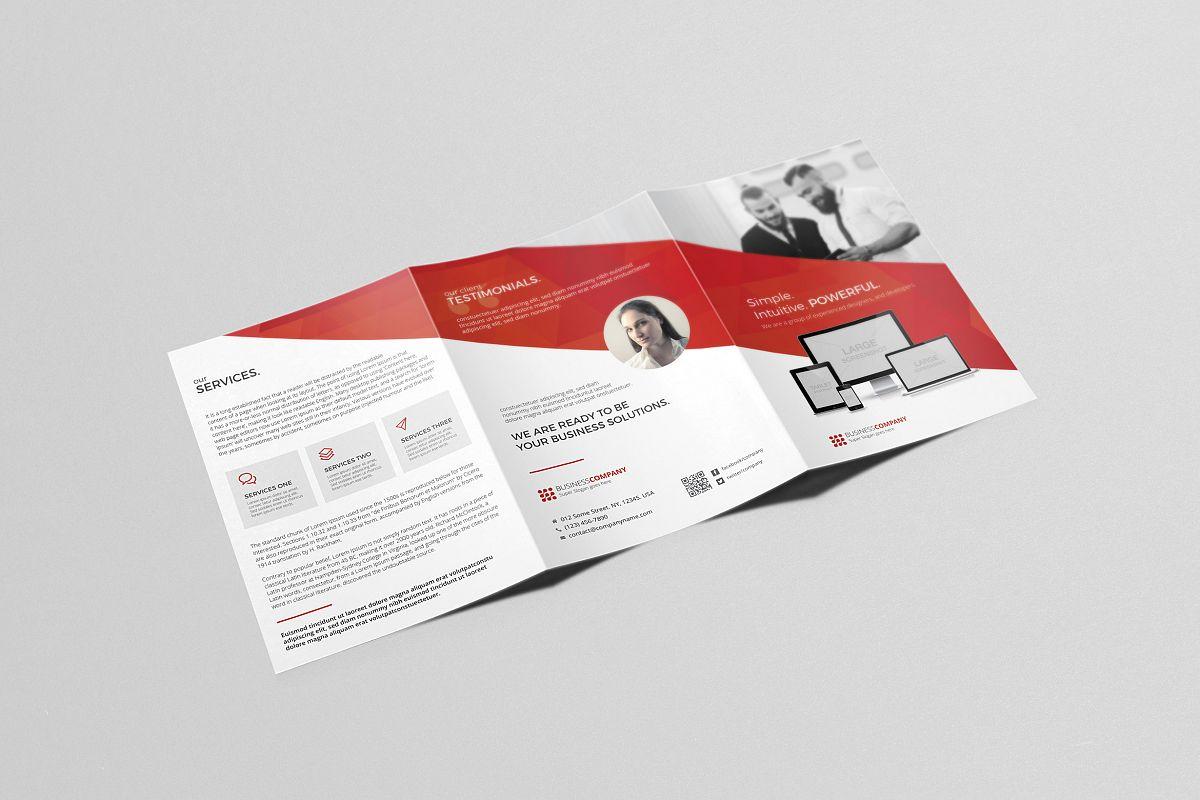 a5 tri fold brochure