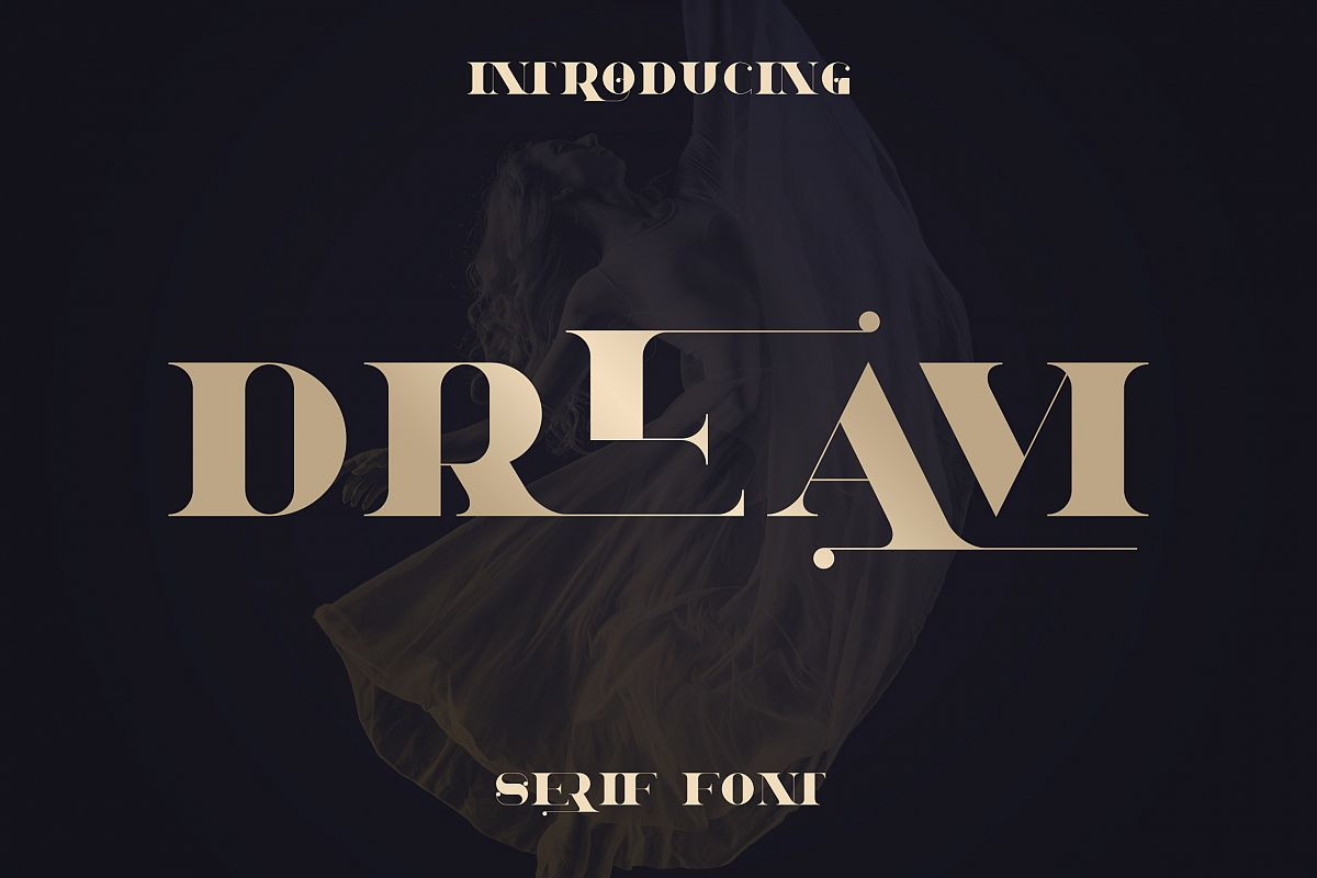 Dream - Magical Serif Font example image 1