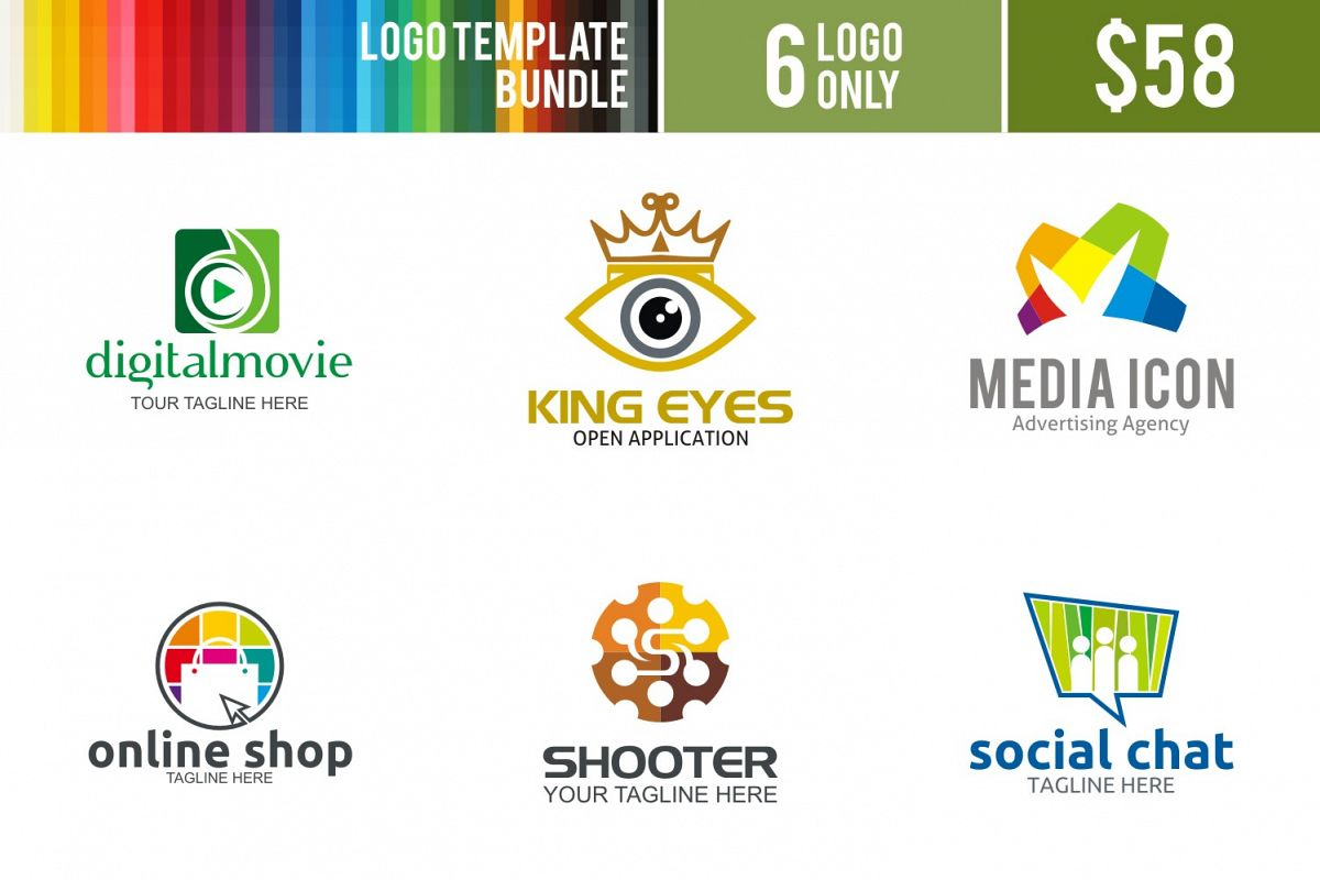 Logo Bundle#4 example image 1